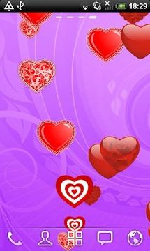 Falling Hearts Free LWP