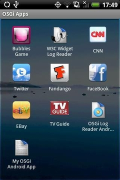 mBS Mobile OSGi Eval