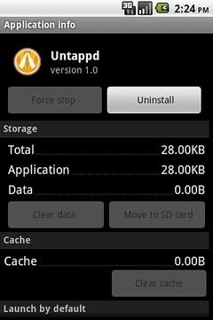 Untappd Launcher