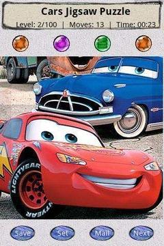 迪士尼汽车拼图