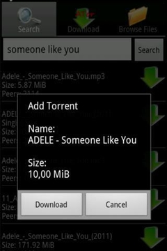 aTor - Torrent Client