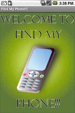 查找我的电话简化版