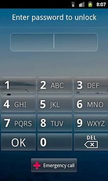 按钮锁定屏幕