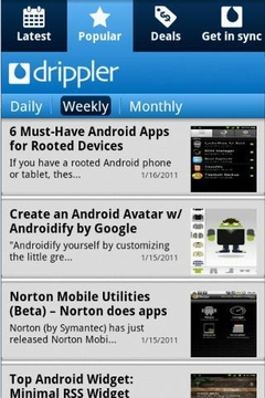 Drippler Samsung Galaxy W