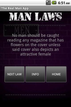The Real Man App