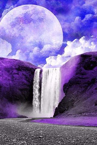 壁纸 风景 旅游 瀑布 山水 桌面 320_480 竖版 竖屏 手机