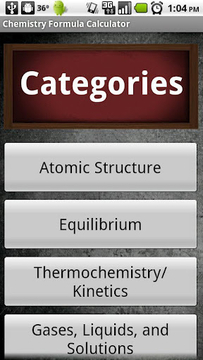 Chemistry Formula Calc