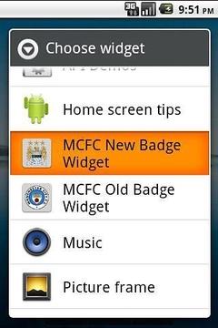 MCFC Badge Widgets
