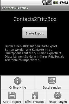 contacts2fritzbox