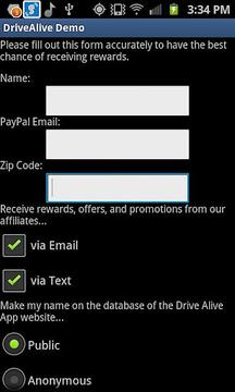 Drive Alive Demo