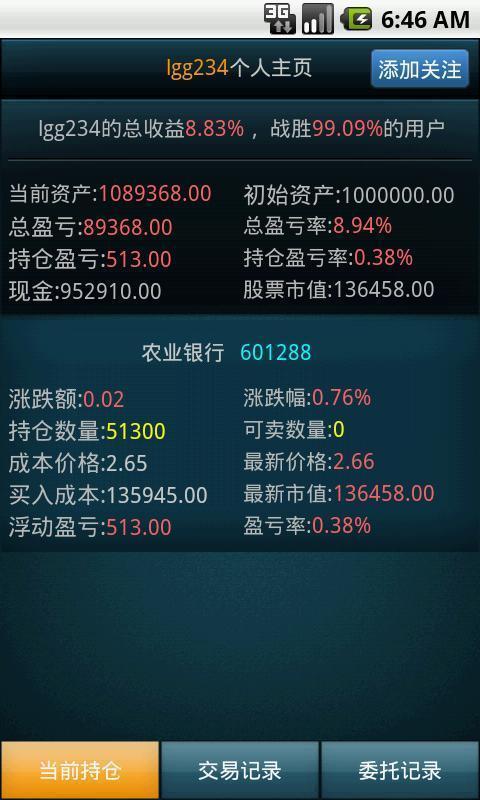 财富之巅模拟股市