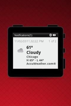MOTOACTV Weather