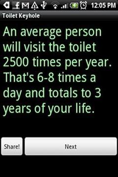 Toilet Keyhole