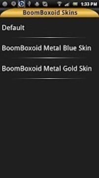BoomBoxoid Metallic Gold Skin