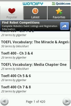 Wordify TOEFL