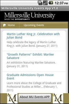 MU Events App V6.0