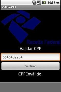 ValidarCPF