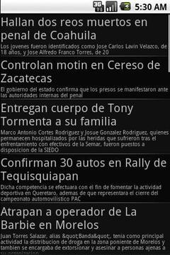 墨西哥报纸