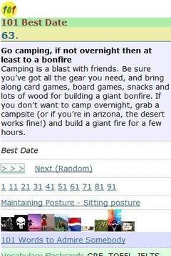 101 Best Date Ideas