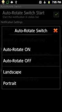 Auto-Rotate Switch