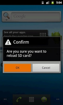 Reload SD Card