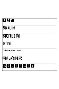 ReChat Font Pack 4
