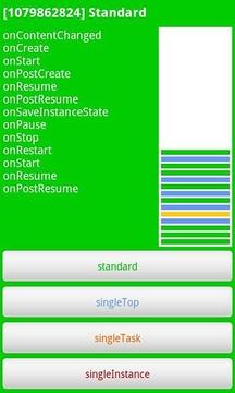 Activities LaunchMode demo