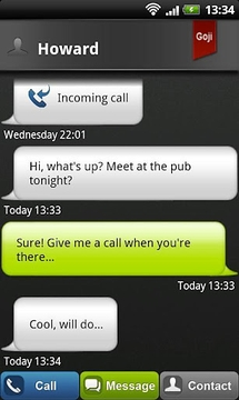 Goji - Free Calls & Messag...
