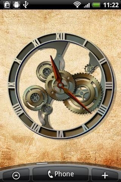 蒸汽朋克的仿真时钟小工具