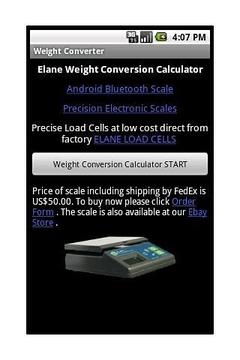 ELANE.NET Weight Converter