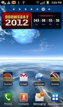 末日倒计时小插件(Doomsday Countdown Widget)
