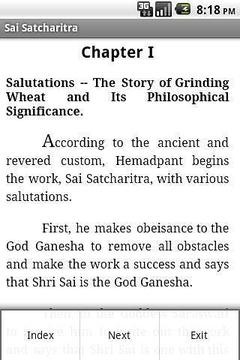 Sai Satcharitra English