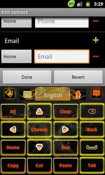 GO Keyboard Rebirth theme