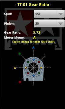 Tamiya TT01 Gear Ratio