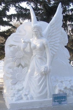 Snow Sculpture Photos