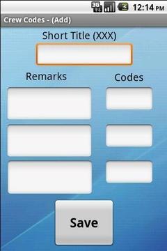 Crew Codes