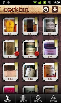 Corkbin for Wine