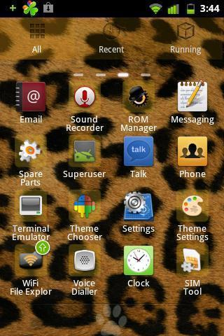 Panther Theme GO Launcher EX