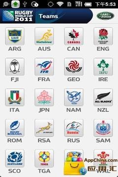 2011橄榄球赛事集锦