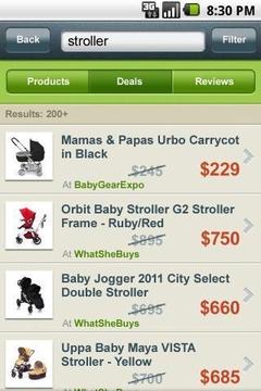 美国比较购物搜索引擎