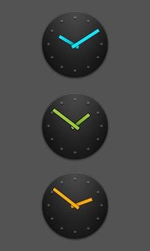 Cyanogen Analog Clock Widgets