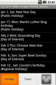World Holidays