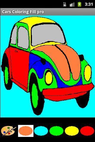 手绘汽车图