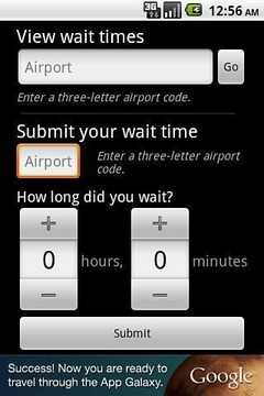 Airport Security Timer