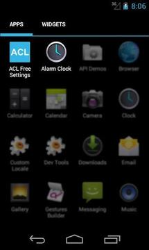 Alarm Clock Launcher