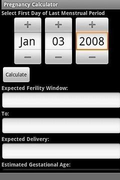 怀孕计算器