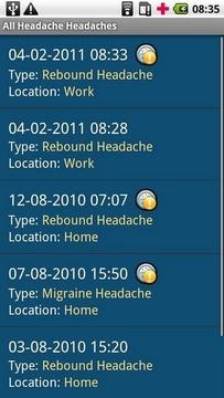 我的头痛日志