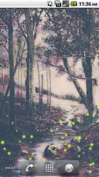 Woodland Stream LWP Free