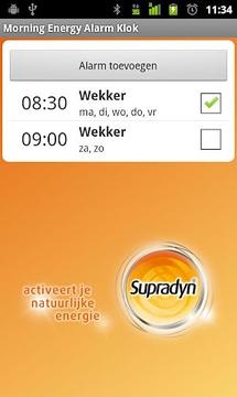 Morning Energy Alarm Clock