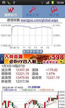 即时国际股市